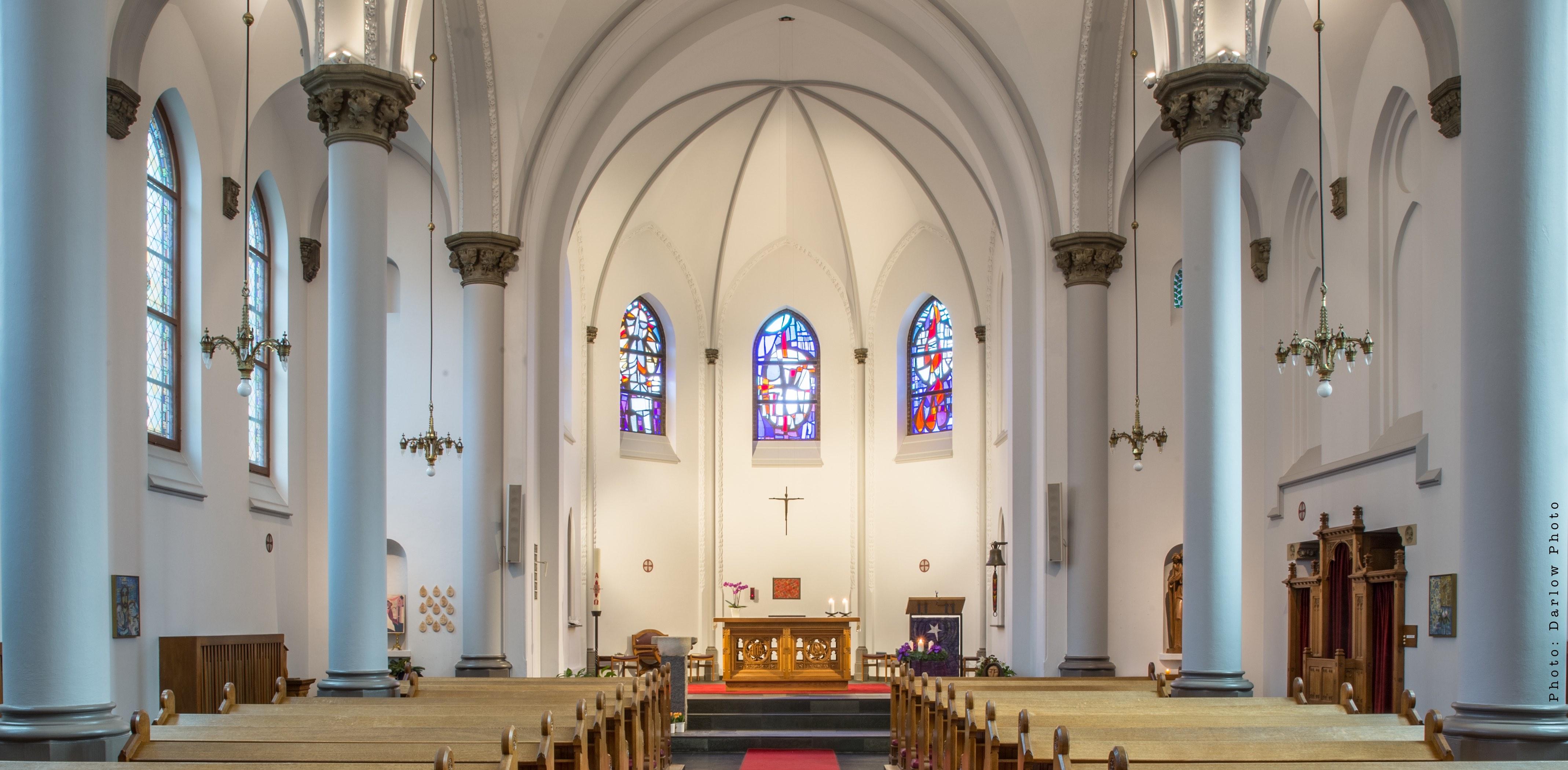 Den katolske kirke i Vejle
